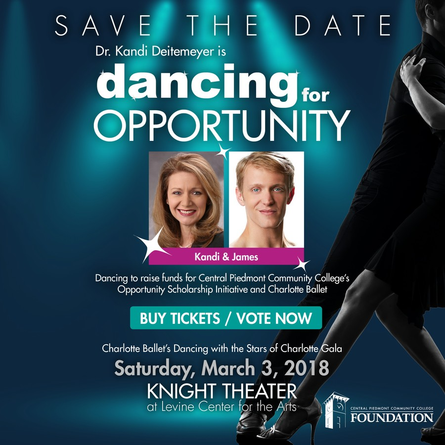 Save the Date for Dancing for Opportunity