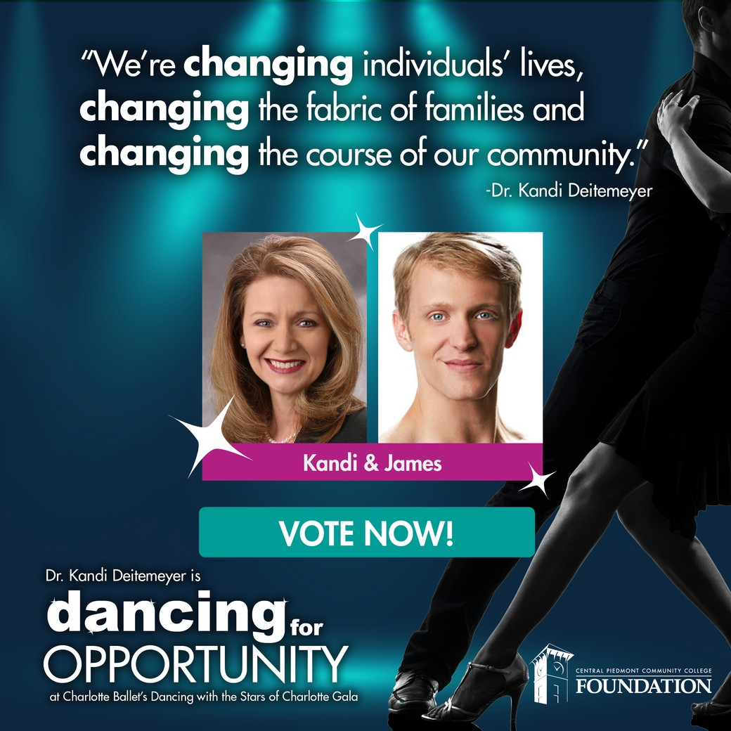 Dr. Kandi Deitemeyer is dancing for opportunity