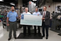 Gene Haas Foundation grant will assist CPCC machining students