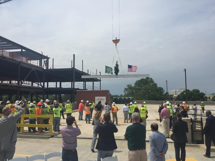 ATC Building Topping Out