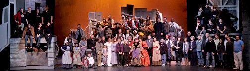 CPCC's production of Les Miserables in 2013